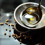 La cuisson des huiles varie en fonction de l'huile utilisée.