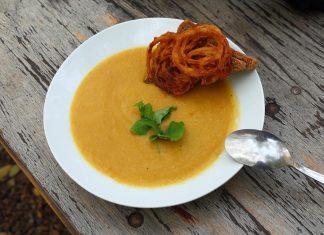 Photo d'un potage de légumes, idéal pour une sleeve ou un bypass.