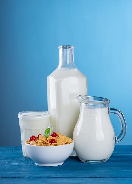 Si vous êtes végétarien, vous pouvez boire 5 lait !